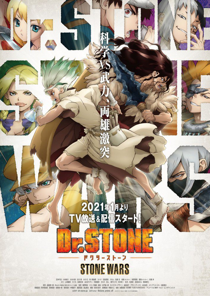 Dr. Stone: Stone Wars - Anime (2021)