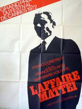 L'Affaire Mattei - Film (1972)