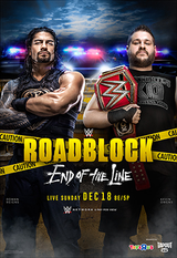 WWE Roadblock : End of the Line - Spectacle (2016)